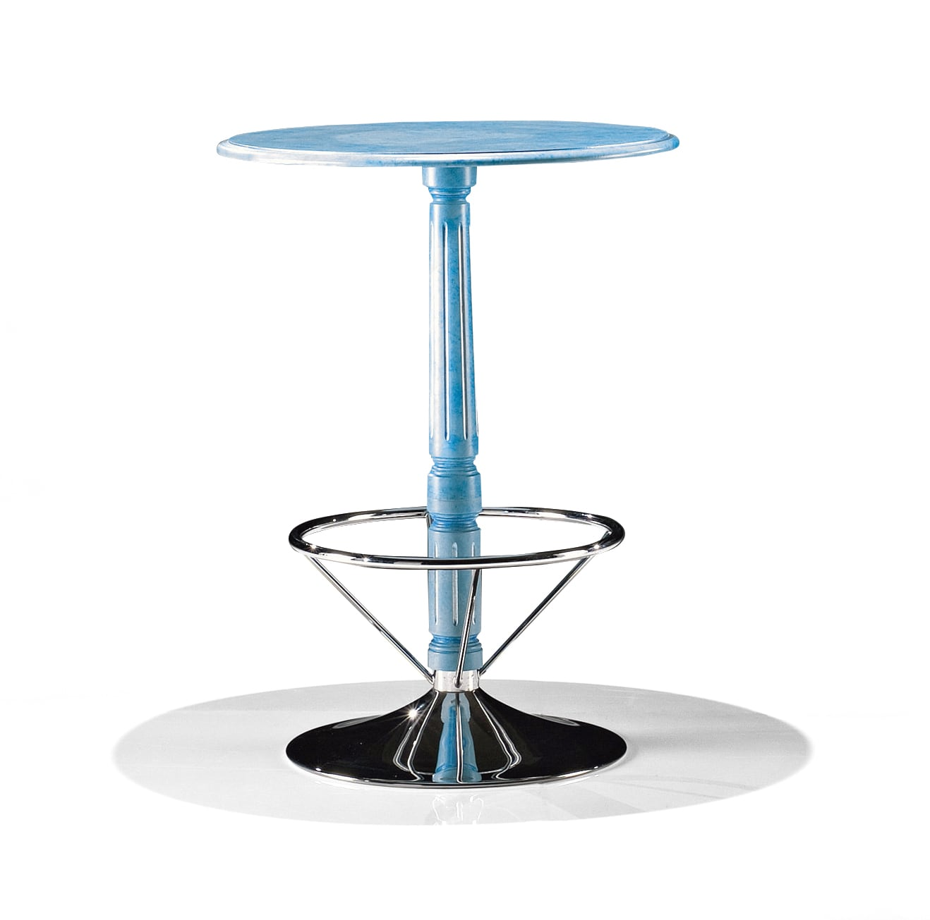 Round Small Table With Footrest 1705 T Bakokko Group