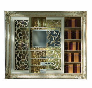 Bakokko_San-Marco-bookcase-Tv-standwith-open-work-doors_4018AB