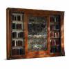 Бакокко-Тв стенка-книжный шкаф- в закрытом виде- 4018B