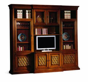 Bakokko_Phedra-capitonnè-Bookcase-Tv-stand_1602V2