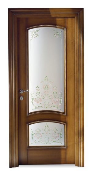 Bakokko_Classic-Doors-hinged-door-internal-frame-with-two-panels-in-ornated-glass_DR400_V