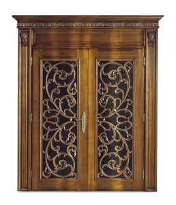 Bakokko_Classic-Doors-double-hinged-door-wooden-inner-frame-with-open-work-carving_DR107_GL