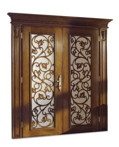 Bakokko_Classic-Doors-double-hinged-door-with-inner-frame-with-open-work-carving-and-glass_DR203V2_GV