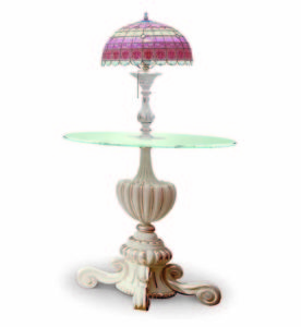 Bakokko_Vittoria_Round-carved-lamp-table-with-Tiffany-style-glass-lamp_4614-TL