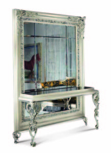 Bakokko_San-Marco-carved-open-work mirror-with-console-table_4044B