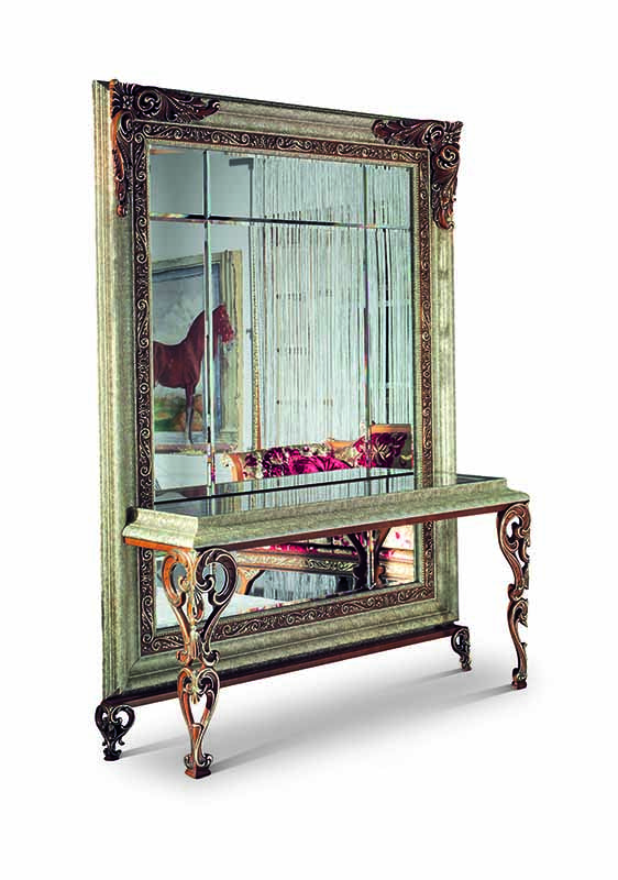 Bakokko_San-Marco-carved-open-work mirror-with-console-table_4044CB