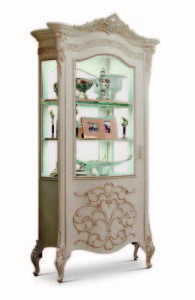 Bakokko_Vittoria-Shaped-display-cabinet-single-door-with-carving_4601SX