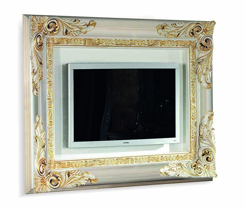 Porta Tv Foglia Oro.Porta Tv Sospeso 4045b Bakokko Group Luxury Furniture