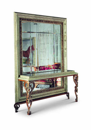 Bakokko_San-Marco-Mirror with console table_4044C
