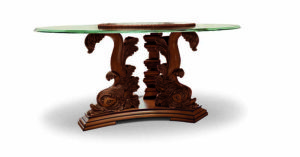 Bakokko_Free-Table-Round-carved-table-glass-top_2591/T