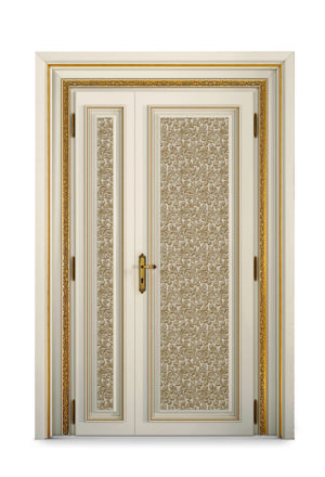 Bakokko_Classic-Doors-Hinged-door-and-a-half-with-upholstered-panel_DR603/2LN