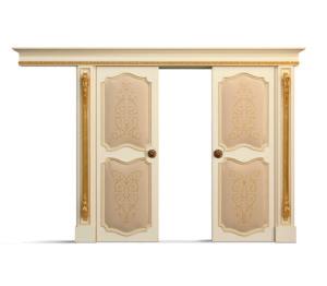 Bakokko-Double classic style sliding door - DR602/4T