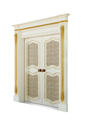 Bakokko_Classic-style-double-sliding-pocket-door_DR601/4LN